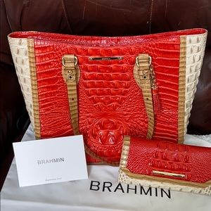 Brahmin medium Lena and wallet